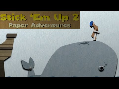 Stick Em Up 2: Paper Adventures Gameplay