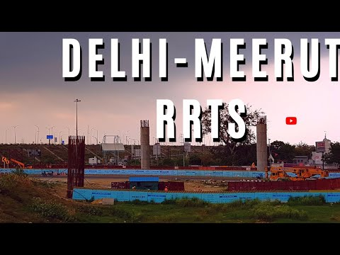 Delhi Meerut Regional Rapid Transit System | RRTS | #RSLIVE