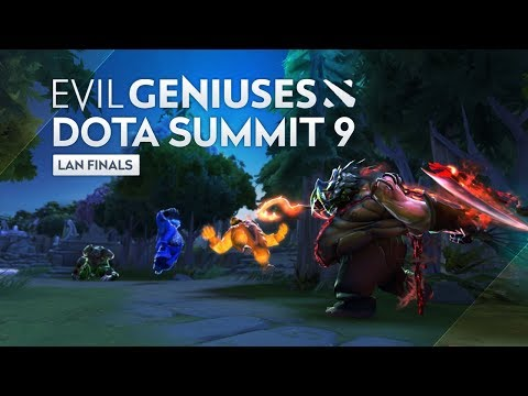 EG Dota Highlights - Dota Summit 9