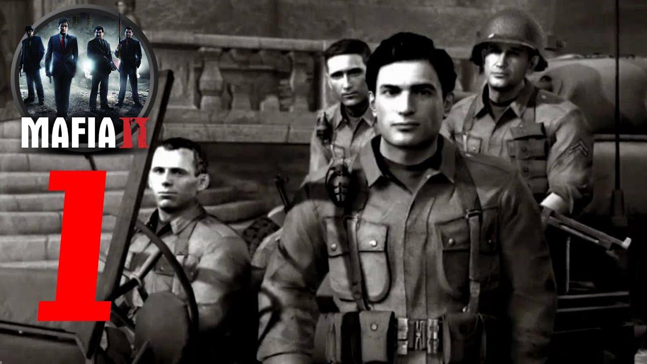 War Hero or Mobster? MAFIA 2 Part 1 - ELT Plays! - YouTube