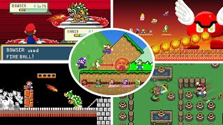 Level UP: CRAZIEST Mario battles (All episodes)