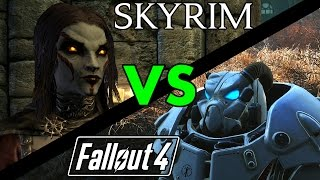 Fallout 4 VS Elder Scrolls Skyrim Remastered: Why Skyrim is Better than Fallout 4 #PumaThoughts
