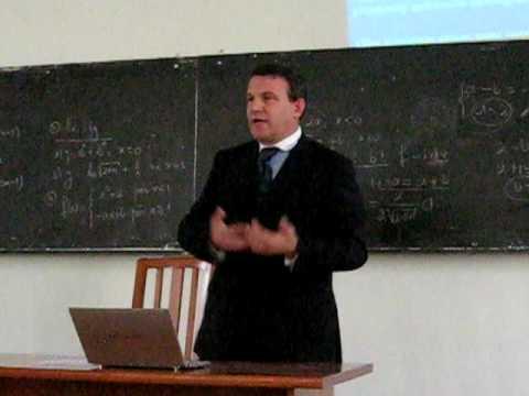 Arben Malaj - Leksion i hapur ne Universitetin e Vlores 1