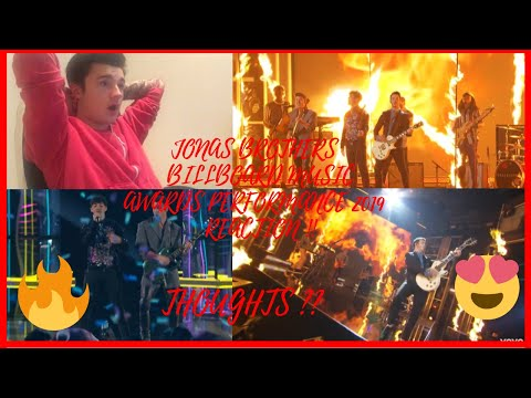 Jonas Brothers – Jealous, Cake By The Ocean, Sucker Meledy (BBMA'S 2019) || WestonVlogs Reaction!!