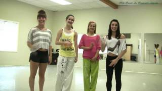 Party Rock Anthem Shuffle Dance Tutorial - Part 1