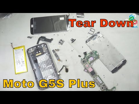 Moto G5S Plus: Tear Down LCD, Battery Replacement & Repairs