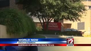 Ebola-infected American to arrive at Nebraska Me