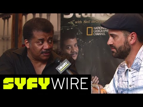 Neil Degrasse Tyson: We'll Never Get to Mars   Comic-Con 2016   SYFY WIRE