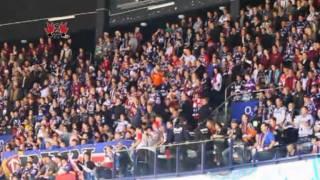 Eisbärenfans on Tour in der Hamburger O2 World