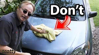 Stop Washing Your Car with Water
