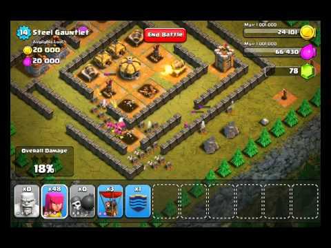 Clash of Clans Level 31 - Steel Gauntlet