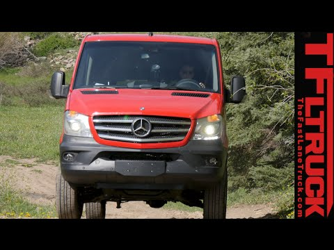 2015 Mercedes Benz Sprinter 4x4 Van Off Amp On Road Review