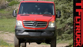 2015 Mercedes-Benz Sprinter 4X4 Van Off & On-Road Review(http://www.TFLtruck.com ) The 2015 Mercedes-Benz Sprinter 4X4 is the only 4-wheel-Drive van that you can purchase in A,erica as Andre found out in this ..., 2015-06-11T21:19:59.000Z)