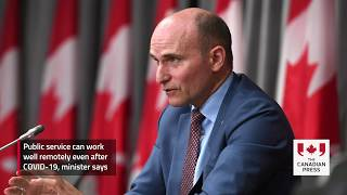 Public service can work well remotely even after COVID-19, minister says
