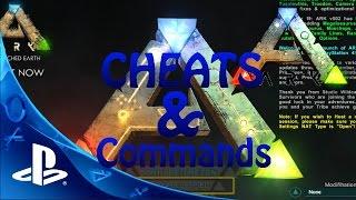 ARK PS4 CHEATS - ADMIN BEFEHLE/COMMANDS FÜR ANFÄNGER Let's Play Ark Survival Evolved PS4 Deutsch