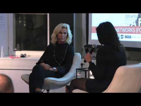 Eva Fors, CEO Yanzi Networks at Startup Grind Stockholm
