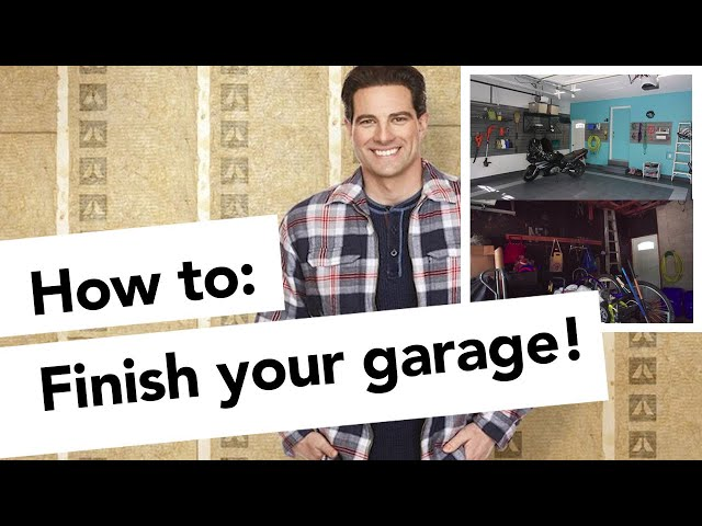 How to finish your garage