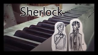 "SHERLOCK BBC THEME (piano cover)| мелодия из сериала ""Шерлок"""