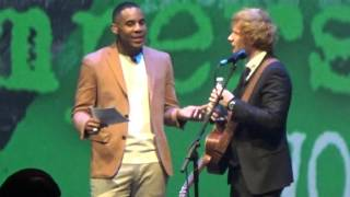 """Ed Sheeran answers more Twitter Fan Questions before his """"Jumpers for GoalPosts"""" premiere pt. 3"""