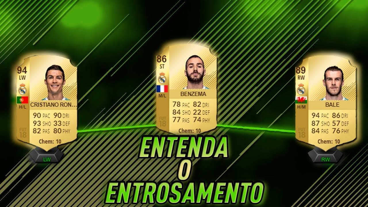 ENTENDA O ENTROSAMENTO (CHEMESTRY) DO ULTIMATE TEAM! CADA DETALHE! TUTORIAL FIFA  18 14347870cc63e