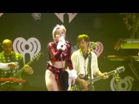 Miley Cyrus - Get It Right (Live At The Kiis FM's Jingle Ball 2013)