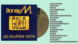 "B.o.n.e.y M. Full Albums ""GOLD 20 Super Hits"""