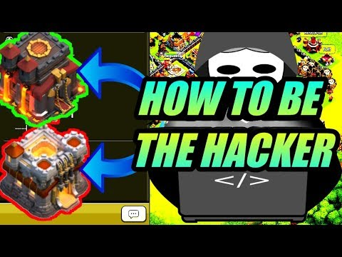 Clash Of Clans (new Trick)..Be The Hacker?? At Any TOWNHALL Level...