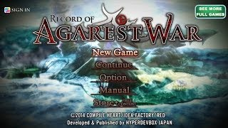 Record of Agarest War - Gameplay - iOS & Android - HD