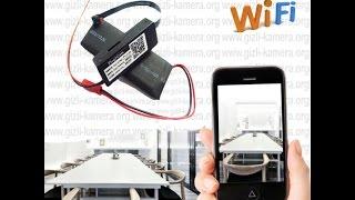 Wi-fi P2P Gizli Kamera Modül Kurulum Videosu