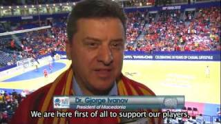Interview with the Macedonian President Dr. Gjorge Ivanov