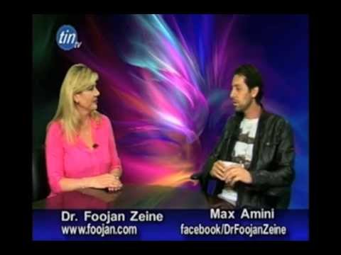 Dr. Foojan Zeine interviews Max Amini, Persian Comedian, Actor