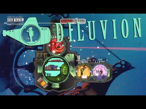 Diluvion - Deep Sea Submarine Sim RPG! - Ep 1 - Let's Play D