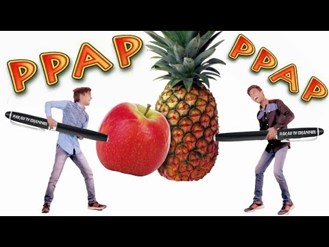 PPAP Pen Pineapple Apple Pen | Song | Pakau TV Channel