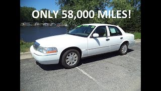 Test Driving A 2005 Mercury Grand Marquis