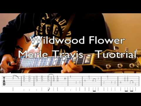 Wildwood Flower - Merle Travis Rockabilly Guitar Tutorial (with Tabs ...