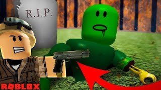 THE BUG OF THE FLYING PISTOLA!! ZOMBIES WAVES!! | SUPERVIVINING IN ROBLOX BALALOST