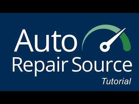 Auto Repair Source - Tutorial thumbnail