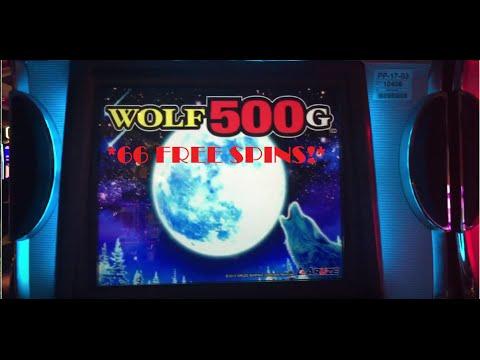 Wolf 500g Bonus 66 Free Spins Youtube