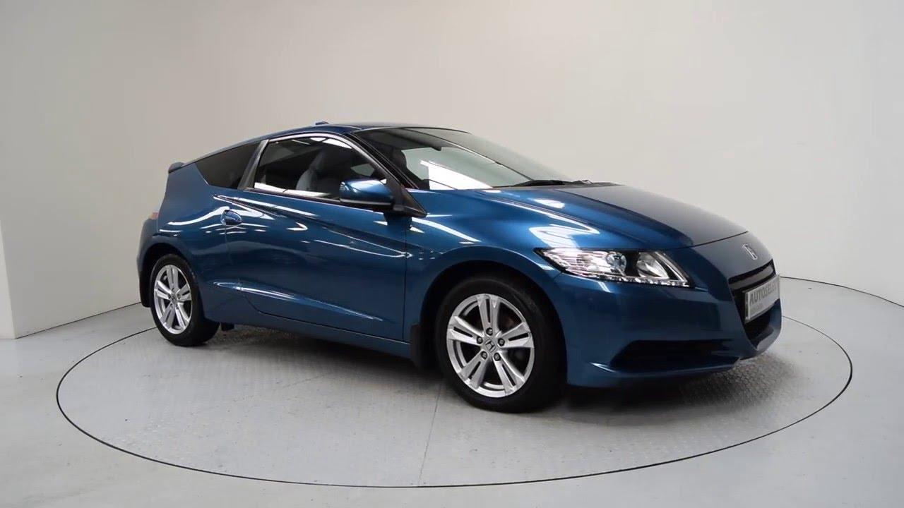 2010 Used Honda Cr Z Ni Blue Shelbourne Motors Rhz6740