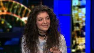 "Lorde ""Royals"" Success & Pure Heroine Australian Tv Interview in FULL Oct. 22, 2013"