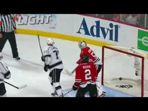 Jeff Carter Scores A Hat-Trick