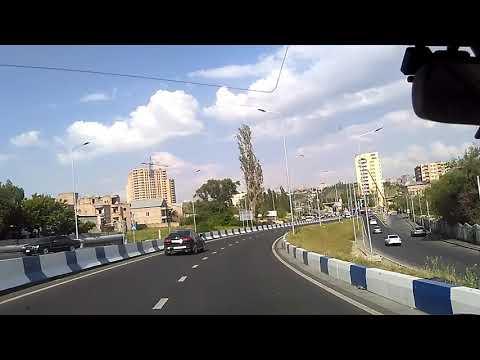 Вьезд в Ереван со стороны города Аштарак, новые высотки, май 2019 | туризм в Армении