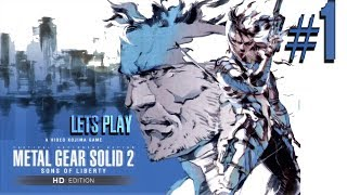 Metal Gear Solid: HD Collection - MGS2 Livestream - Xbox 360 - Part 1
