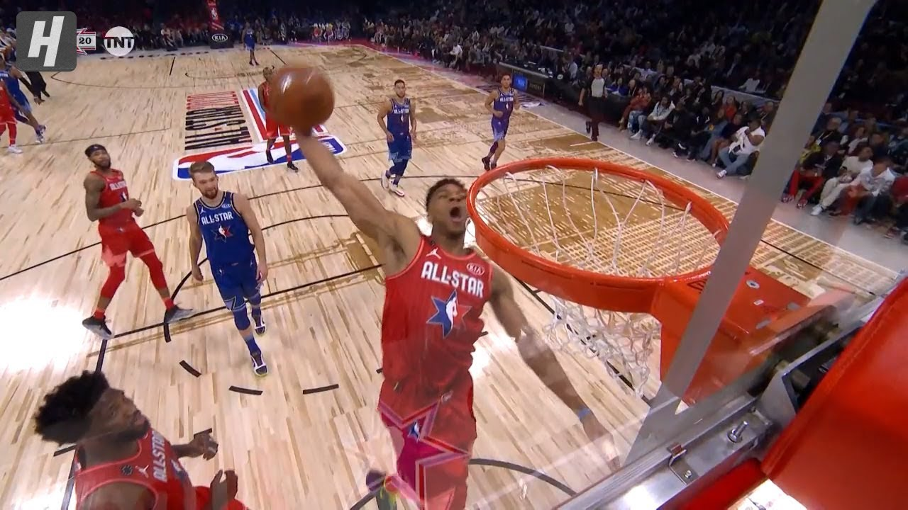 Giannis Antetokounmpo Misses Windmill Dunk - 2020 NBA All-Star Game