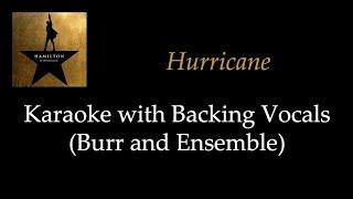 Hamilton - Hurricane - Karaoke with Backing Vocals (Burr and Company)