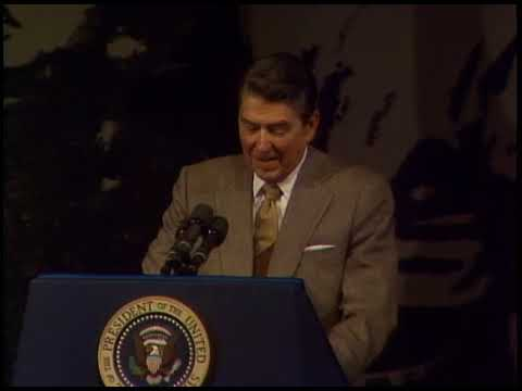 President Reagan's Remarks at Oakton High School in Virginia on March 24, 1988