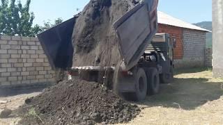 Kamaz russian power truck