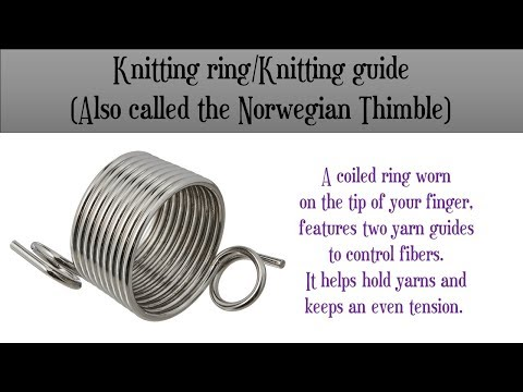 Review: How to crochet with a Norwegian knitting thimble/finger ring