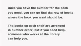 IADT Library Tutorials: OCLC Introducing the Dewey Classification System