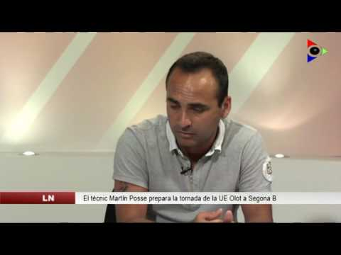 Martín Posse, entrenador de la UE Olot